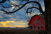 Red Barn at Sunset_0760