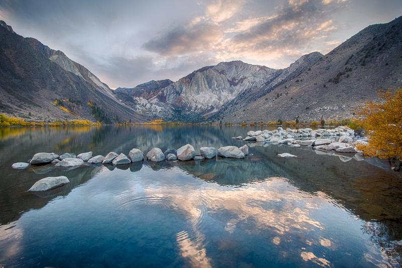Wanda Parsons Photography Convict Lake At Mammoth Lakes California